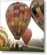 Balloon Day Is A Happy Day Metal Print by Rob Travis
