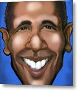 Barack Obama Metal Print by Kevin Middleton