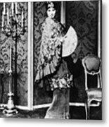 Barbra Streisand (1942- ) Metal Print by Granger