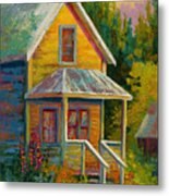 Barkerville Orphan Metal Print by Marion Rose