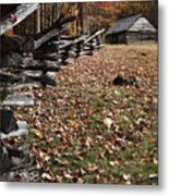 Barn At Jim Bales Place Metal Print by Andrew Soundarajan
