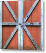Barn Door 3 Metal Print by Dustin K Ryan
