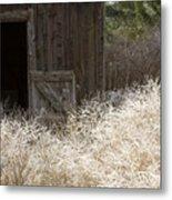 Barn Door Metal Print by Idaho Scenic Images Linda Lantzy