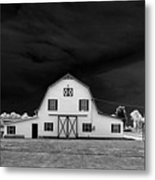 Barn Storm Metal Print by Julian Bralley