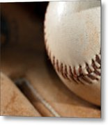 Baseball Metal Print by Felix M Cobos