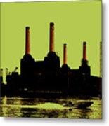 Battersea Power Station London Metal Print by Jasna Buncic