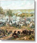 Battle Of Gettysburg Metal Print by War Is Hell Store