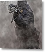 Bayonet Warrior Metal Print by Mark H Roberts