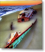 Beached Beauty Metal Print by Dan Carmichael