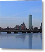 Beantown On Ice Metal Print by Juergen Roth