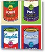 Beatles Soup Metal Print by Gary Grayson
