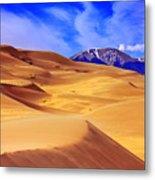 Beauty Of The Dunes Metal Print by Scott Mahon