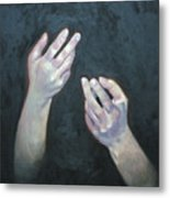Beckoning Hands Metal Print by Douglas Manry