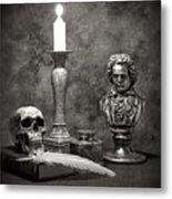 Beethoven Still Life Metal Print by Tom Mc Nemar