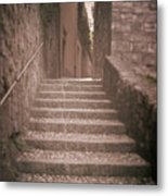 Bellagio Stairs Metal Print by Chuck Parsons