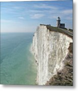 Belle Tout Lighthouse, East Sussex. Metal Print by Philippe Cohat