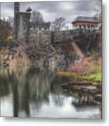 Belvedere Castle Vertical Metal Print by Ariane Moshayedi