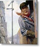 Beneker: The Engineer, 1913 Metal Print by Granger