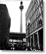 Berlin Street Photography Metal Print by Falko Follert