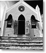 Bermuda Church Metal Print by George Oze