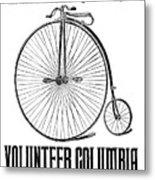 Bicycle Advertisement, 1888 Metal Print by Granger