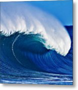 Big Blue Wave Metal Print by Paul Topp