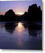 Big Sur Sunset Metal Print by Pierre Leclerc Photography