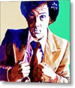 Billy Joel - New York State Of Mind Metal Print by David Lloyd Glover