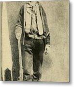 Billy The Kid 1859-81, Killed Twenty Metal Print by Everett