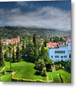 Birdseye View Of Santa Barbara I Metal Print by Steven Ainsworth