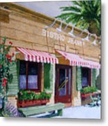 Bistro Jeanty Napa Valley  Metal Print by Gail Chandler