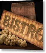Bistro Still Life IIi Metal Print by Tom Mc Nemar
