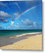 Blessed With A Rainbow Metal Print by Kerri Ligatich