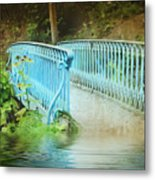 Blue Bridge Metal Print by Svetlana Sewell