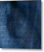Blue Glimpse Metal Print by Vicki Ferrari