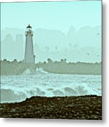 Blue Mist 2 Metal Print by Marilyn Hunt