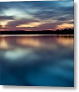 Blue Skies Of Reflection Metal Print by Jonas Wingfield