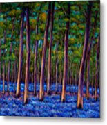 Bluebell Wood Metal Print by Johnathan Harris