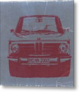 Bmw 2002 Metal Print by Naxart Studio