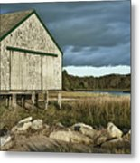 Boathouse Metal Print by John Greim