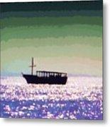 Boating Home Metal Print by Deborah MacQuarrie