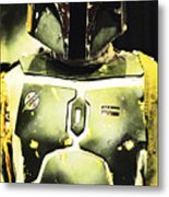 Boba Fett Metal Print by Micah May