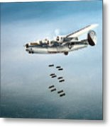 Bombs Away Metal Print by Marc Stewart