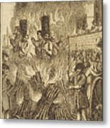 Book Of Martyrs, 1563 Metal Print by Granger