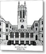 Boston College Metal Print by Frederic Kohli
