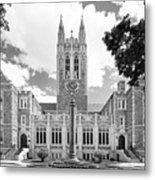 Boston College Gasson Hall Metal Print by University Icons