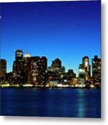 Boston Skyline Metal Print by By Eric Lorentzen-Newberg