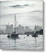 Boston Skyline  Metal Print by Matthew Martelli