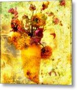 Bouquet Metal Print by Bernard Jaubert