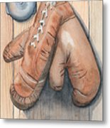 Boxing Gloves Metal Print by Ken Powers